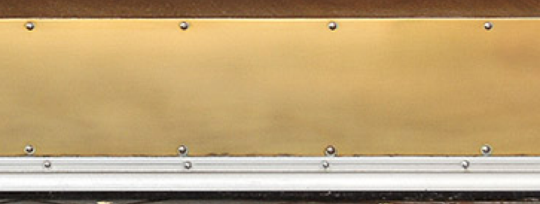 How to Clean Brass Kick Plate & Brass Push Plates